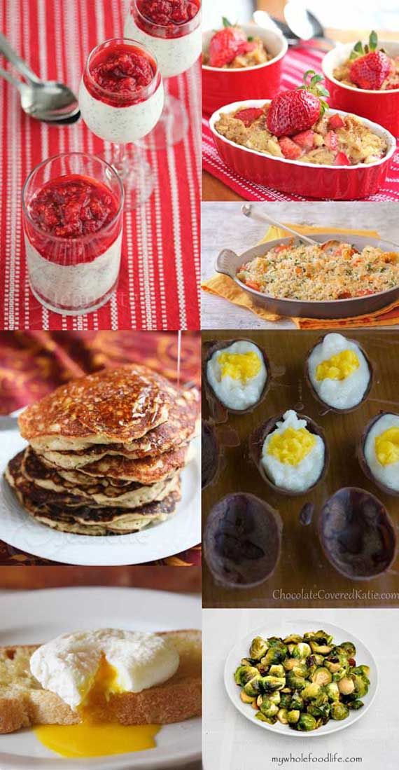 21 Clean  Healthy Easter Recipes! #CleanEating #Easter