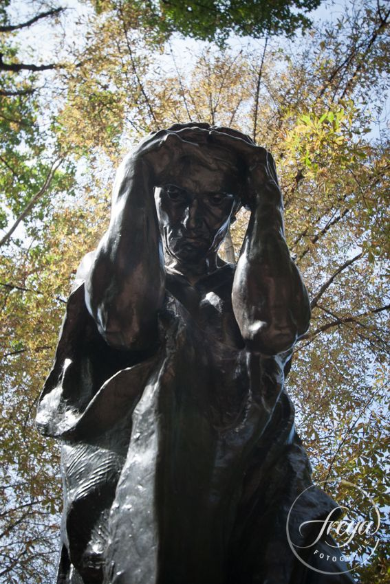 Paris - Rodin - My thoughts are with you - #TrouwfotografieFreya