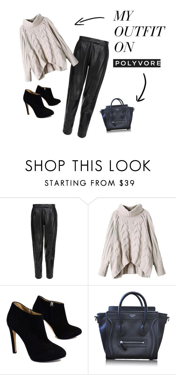 """pull..over!!"" by maikoyt on Polyvore featuring MuuBaa, Giuseppe Zanotti and CÉLINE"