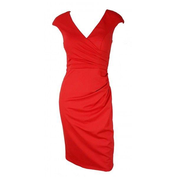 Tenia Romantic Crossover Party Dress