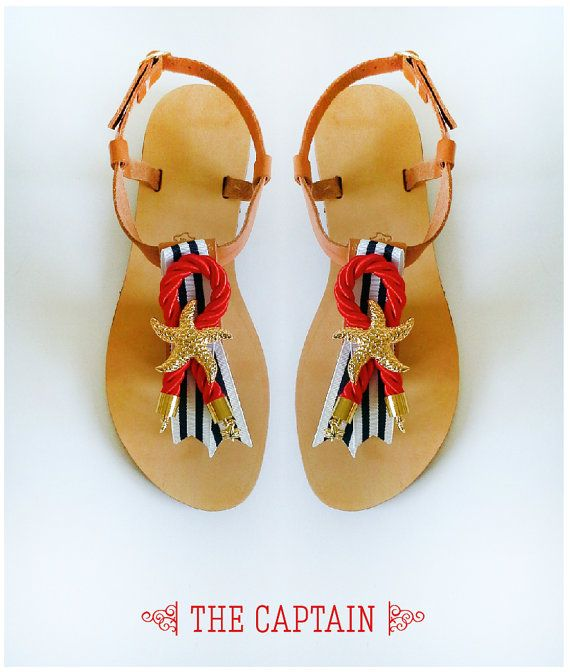 Sandals  Handmade Sandals greek style sandals  THE by MyMarmade