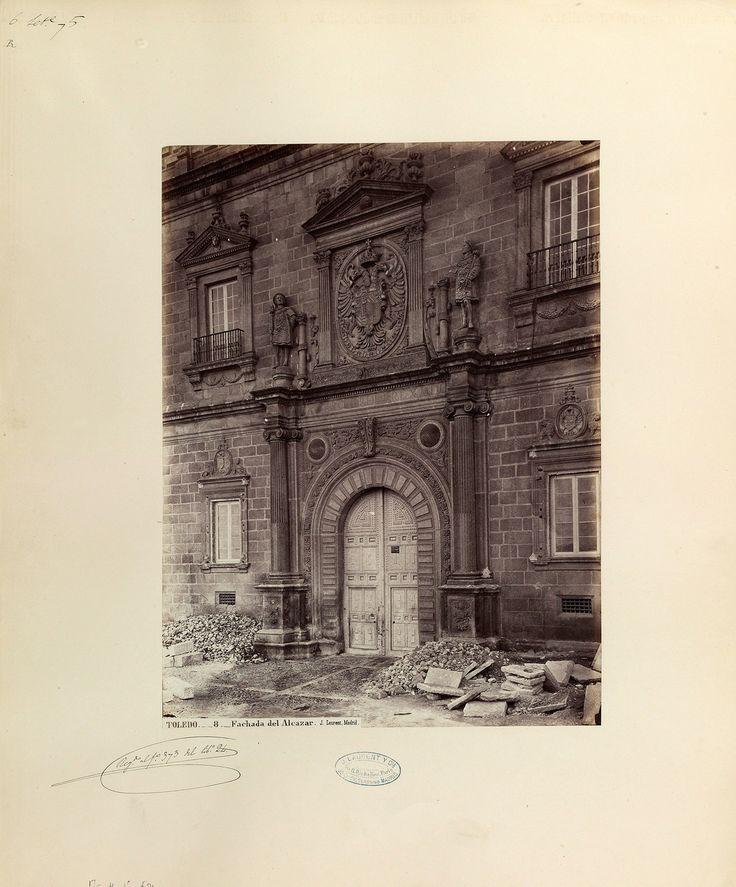 Toledo - fachada del Alcazar