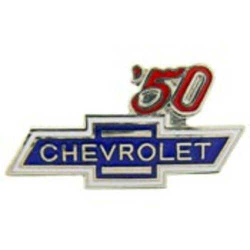 "Chevrolet '50 Logo Pin 1"" by FindingKing. $8.99. This is a new Chevrolet '50 Logo Pin 1"""