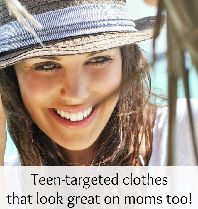 Here's how to take teen-targeted clothes and make them work for your more sophisticated style.