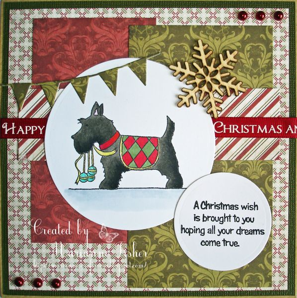 Marianne's Craftroom: Scotties for Cardmaking and Papercraft magazine