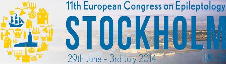 The 11th European Congress on Epileptology, #Stockholm.