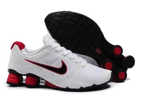Trainers - Nike Air Shox Turbo 12 Mens Mesh White Black Red Black Friday