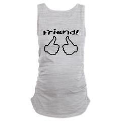 Friend! from The Inbetweeners Maternity Tank Top