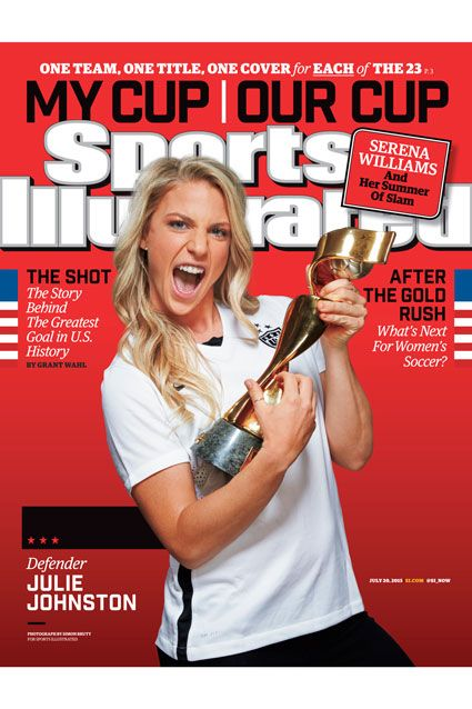 U.S. Women's Soccer Team Gets 25 Different 'Sports Illustrated' Covers