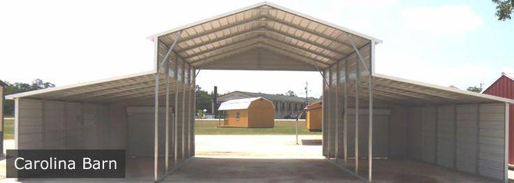 Carolina Carports - Pole Barns - Visit www.carolinacarportstx.com