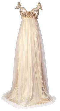 empire waist gown