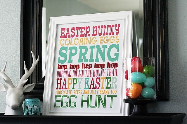easter: Subway Signs, Subway Art, Easter Crafts, Eggs Hunt'S, Easter Spr, Easter Decor, Free Printable, Easter Printable, Easter Subway