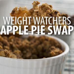 Weight Watchers: The Chew Nannie's Apple Pie Recipe with Crust Cheat