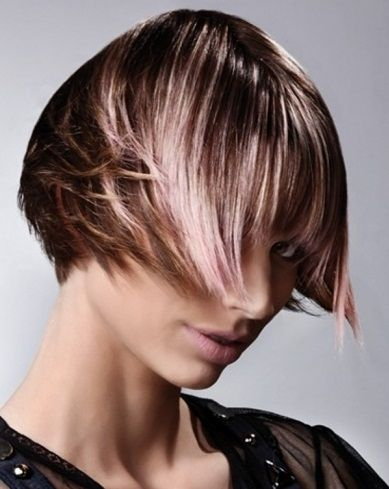 Fabulous Light Pink Hair Highlights 2014