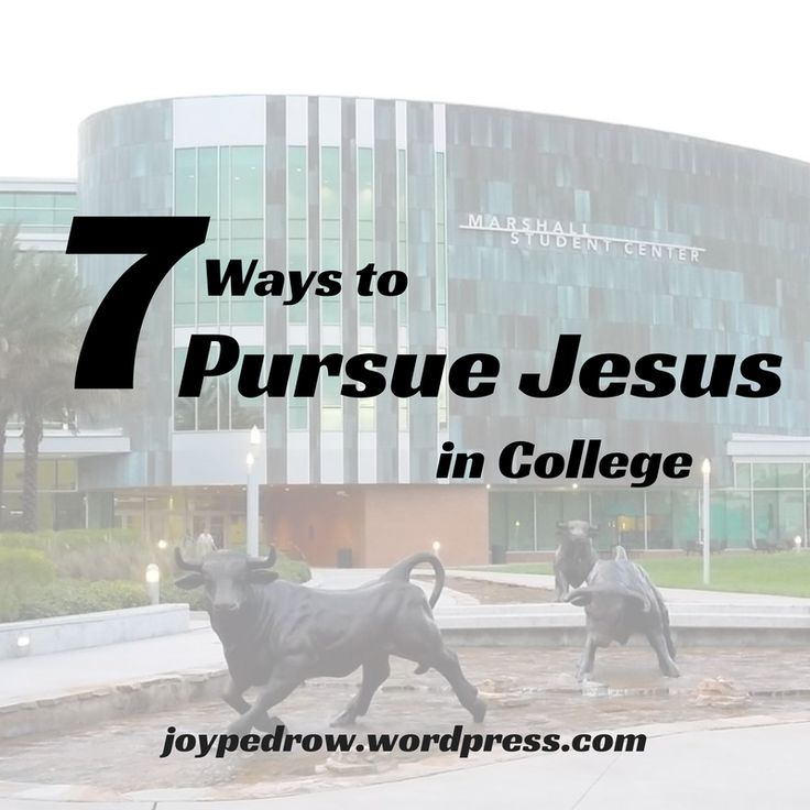 Pursuing Jesus in college is difficult, but it is worth every hardship. You are not alone in this journey. There will be other Christians on your campus, you just have to find them! Here are 7 ways...7-30-14