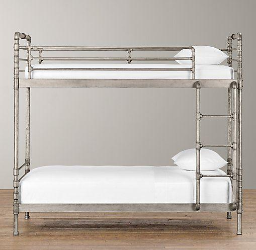 Industrial Steel Pipe Bunk Bed Bunk Beds Restoration
