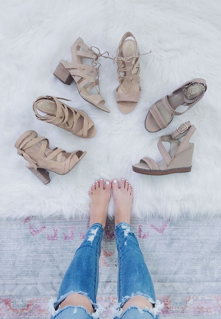 Blush and Nude Sandals for Summer - Life By Lee