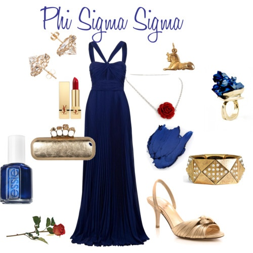 How to dress like a Phi Sig (fancy edition). #PhiSigmaSigma