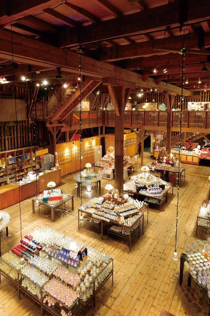 Main Building of the Otaru Music Box Museum - Otaru Sakaimachi Dori Shopping Street Hokkaido Japan