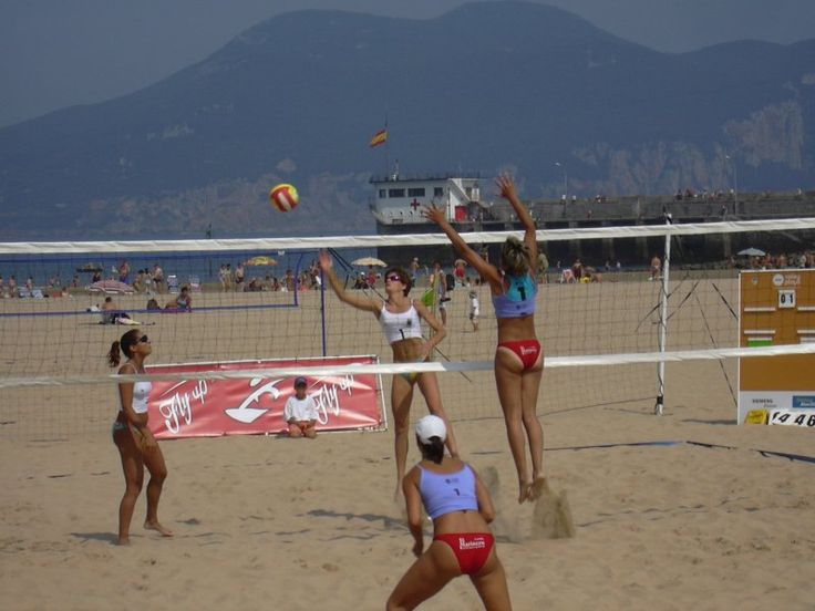 Voleibol de playa femenino