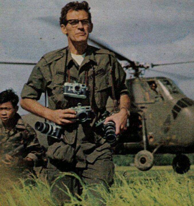 Larry Burrows photographer KIA 1971 over Laos