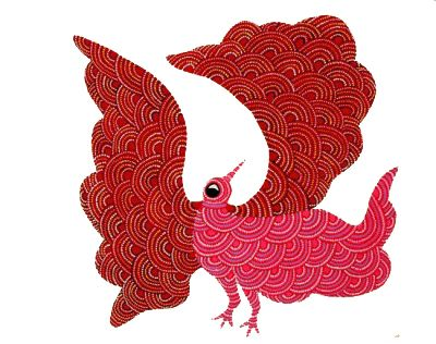 Gond Painting, traditional Indian Folk Art