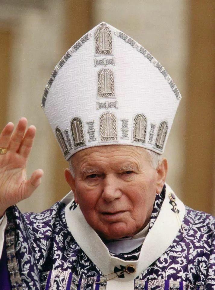 San Juan Pablo II ruega por nosotros