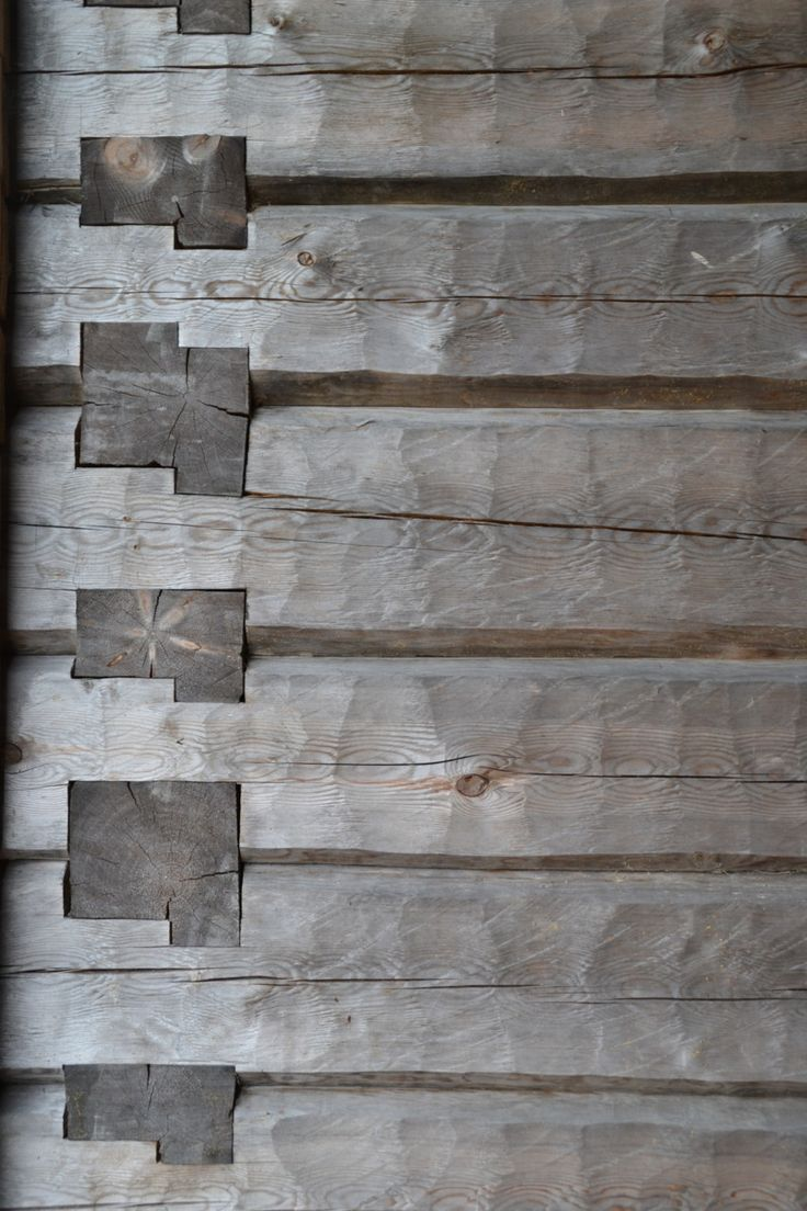 hahitstaylor:    Wooden Joints  Karsamaki Church  Karsamaki, Finland