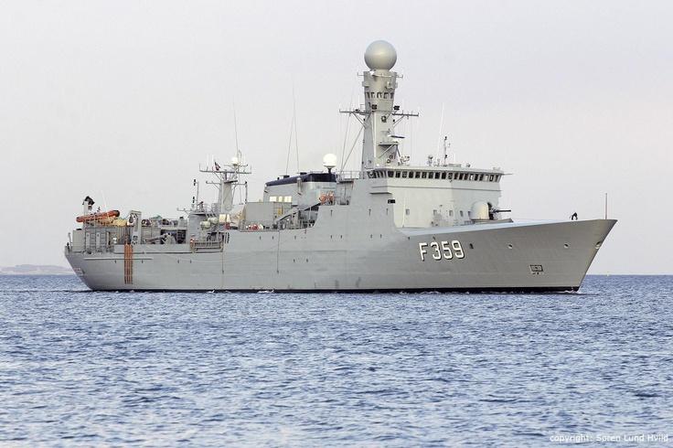 HDMS Vædderen (F359) - Thetis class Ocean Patrol Vessel (Denmark)