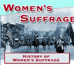 Free information and lesson plans about what it took for women around the world to win the right to vote, with a special emphasis on how it happened in America.