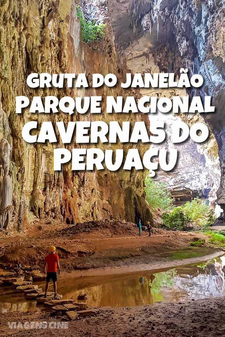 Gruta do Janelão: localizado no norte de Minas Gerais, o Parque Nacional Cavernas do Peruaçu reúne salões grandiosos e espeleotemas incríveis, como a maior estalactite do mundo