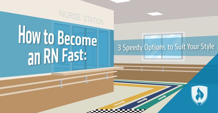 Learn how to become an RN quickly, and see which nursing path suits you best. #RN #nursing #nurses