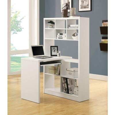 Hollow Corner Desk - love for kids room with little space