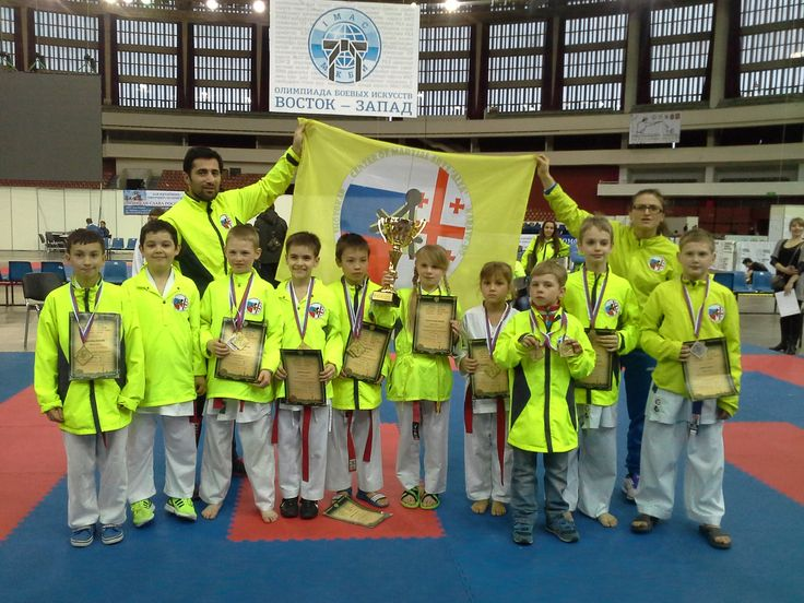 "Karate WKF+WKU Olympic Games of martial arts ""East-West"" St. Petersburg, Russia"