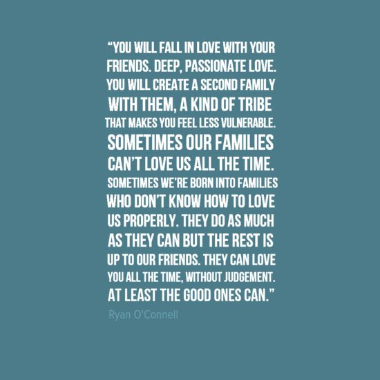 Unique Life Quotes About Friends And Family ...