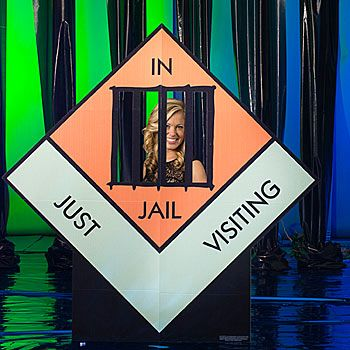 Giant Monopoly Jail Photo Standee
