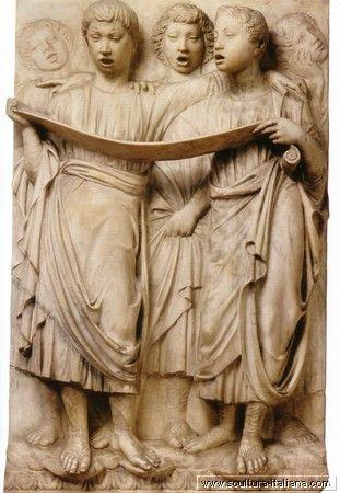 Luca Della Robbia - Cantoria (particolare, Firenze, Museo dell'Opera del Duomo, 1431-38).jpg
