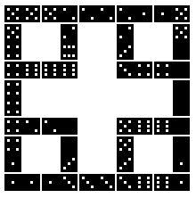 Domino Puzzles http://www.mathematische-basteleien.de/domino.htm
