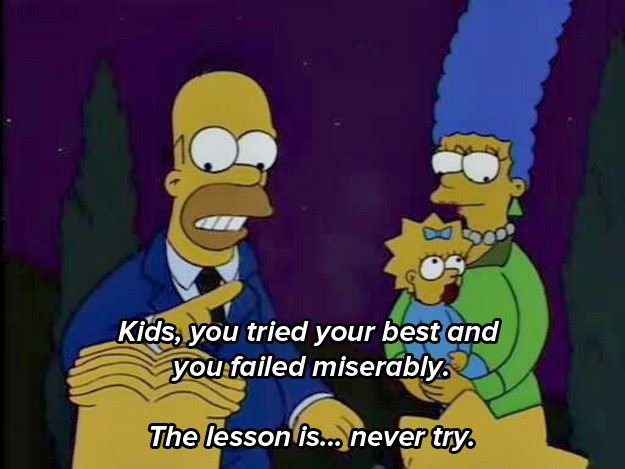 """Worrds to live by: 31 """"Simpsons"""" Quotes Guaranteed To Make You Laugh Every Time"""