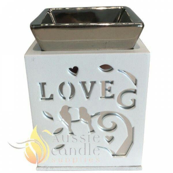 Love square oil burner $5.55 @aussiecandlesupplies.com.au