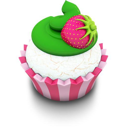 Cupcake Icon | Vanilla Cupcake Icon | Aka Acid Cake Iconset | Archigraphs