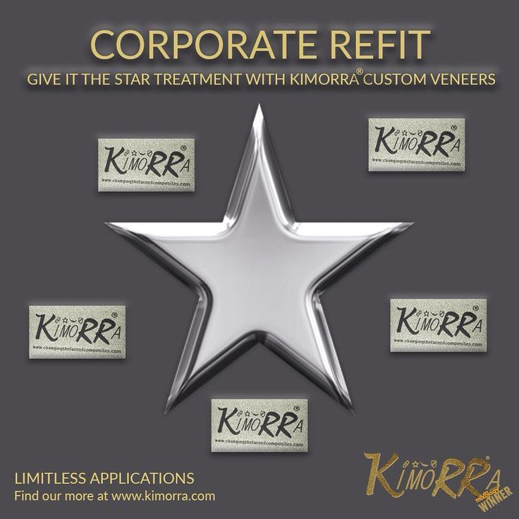 "0 Likes, 1 Comments - Changing The Face (@ctfoc) on Instagram: ""Planning a refit and want to give it the star treatment? We can incorporate a logo into Kimorra®…"""