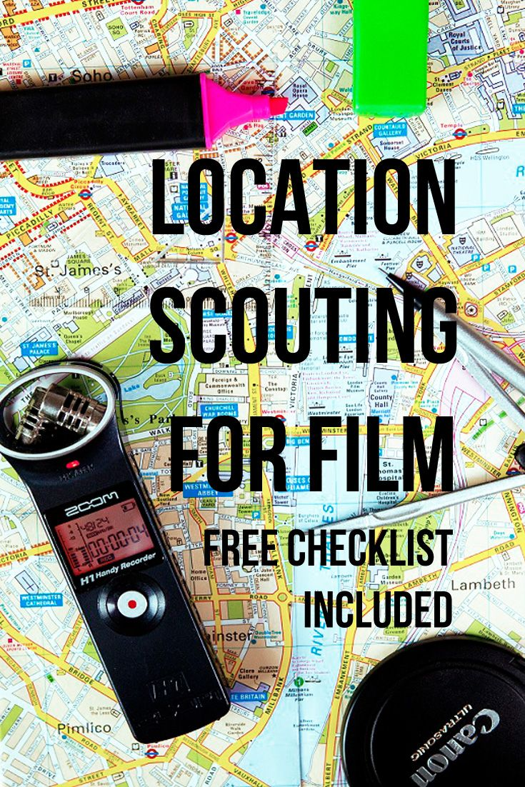 Location Scouting for film. With a free checklist of ideas to keep in mind during your next location recce | film locations | filmmaking | film tips | Film advice