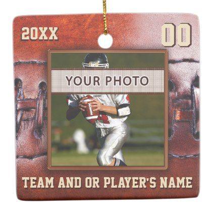 Photo Football Team Gift Ideas Football Ornaments - cheap gifts diy cyo unique gift ideas