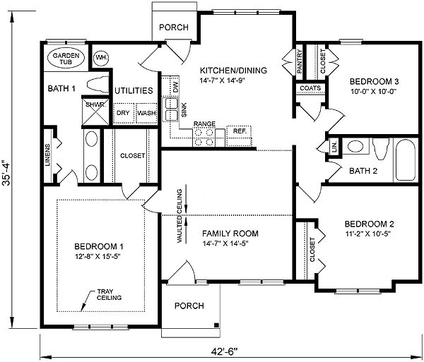 Charming House Plan Chp 24161