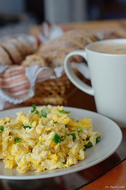 Śniadanie: Jajecznica by CDCobra, via Flickr