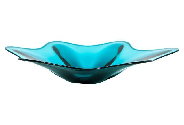 Murano Turquoise Centerpiece