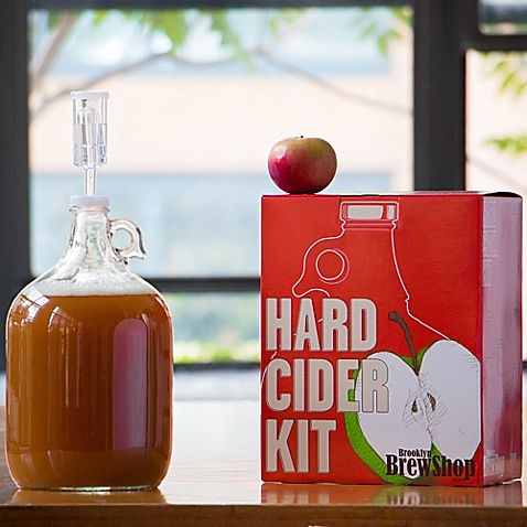 How To Make Hard Cider:  Enjoy the process of making hard cider like a pro right at home with the Brooklyn Brew Shop Hard Cider Kit. The kit makes 3 batches of tart, dry or bubbly hard cider which can be made fresh from apples, or with regular cider that you can ferment.