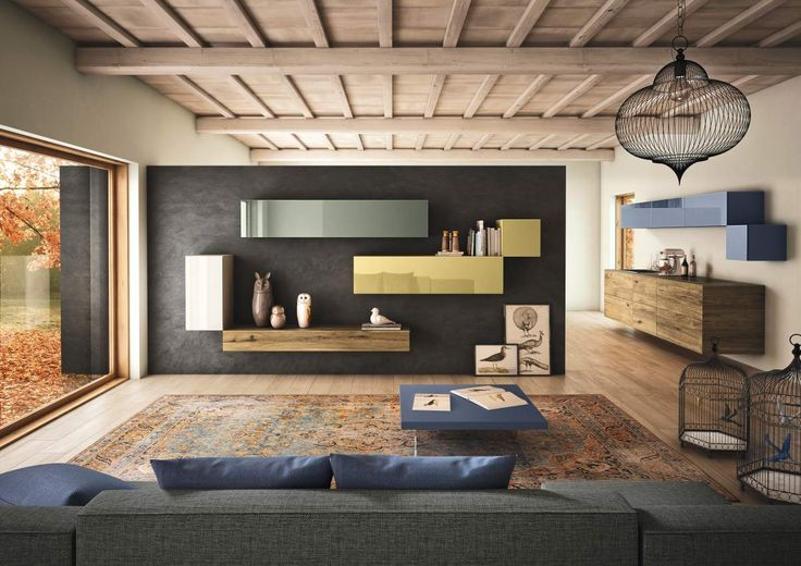Express your passion with 36e8 storage by #LAGOdesign #interiordesign #living #storage