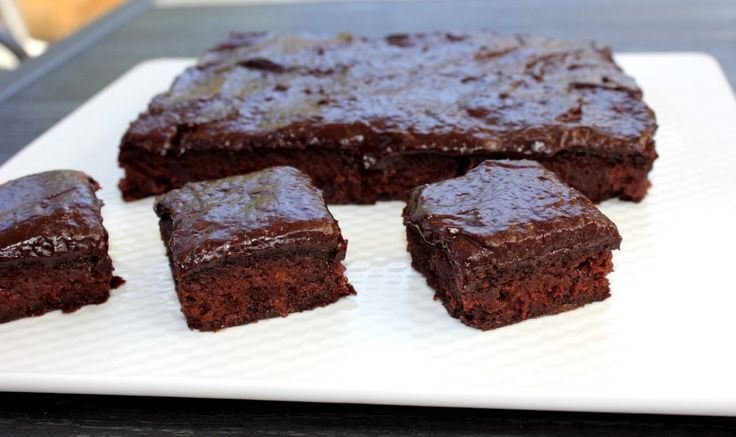 barbecue brownies with a hint of pecan smoke